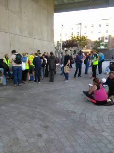 Helping to Feed The Homeless In Dublin