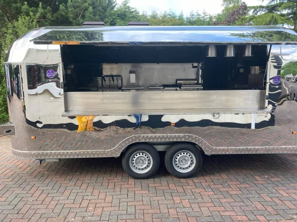 Airstream Catering Trailer by David Smyth Catering